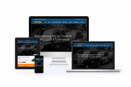 Blackpool Licensed Taxi Operators Association Website Design created by Netintelect Web Design Blackpool