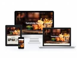 Bourne Arms Website Design