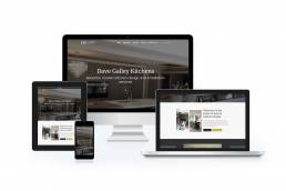 Kitchens by Dave Galley Wordpress Website Design