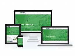 Ecoline Technology Wordpress Website Design