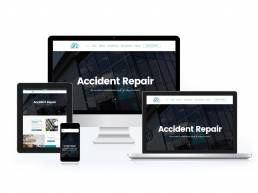 Accident Repair Centre Fylde Coast (ARC) Wordpress Website Design