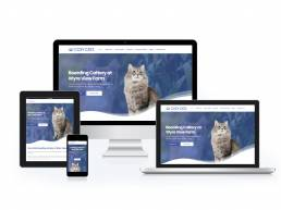 Cosy Cats Boarding Cattery Wordpress Website Design