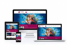 Responsive Property Listing Website Design created for Hotel Reservations Blackpool