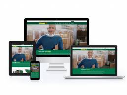 Responsive Website Design created for Storeit NW